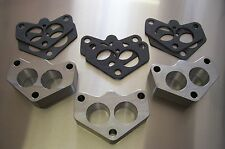 Fits Stromberg 97 48 Ford Holley 94 Carb Spacer Aluminum 3x2 Tri Power Riser 3 A