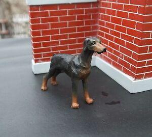Custom Doberman Standing Miniature 1/24 Scale Half Scl G Diorama Accessory Item