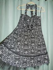 NWT Book of Life Hot Topic black white Day of the Dead dress skull  M L XL p280