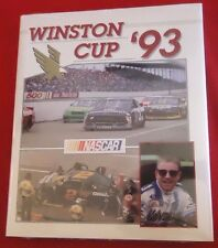 NASCAR Winston Cup Yearbook 1993 Mark Martin on Cover NEW & SEALED