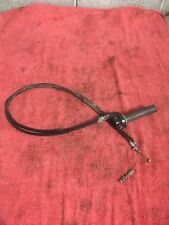 1988 HONDA XR250R THROTTLE CABLES AND TWIST THROTTLE TUBE CLAMP