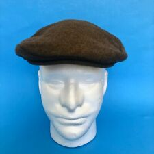 STEFANO Flat Cap CASHMERE Medium Driving Hat Newsboy