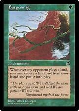 BURGEONING Stronghold MTG Green Enchantment RARE