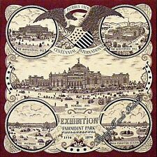 "WINDHAM PHILADELPHIA CENTENNIAL FAIRMONT COTTON FABRIC PANEL 22"" X 23"""