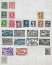 16 Spanish Caribbean Island Colony Stamps from Quality Old Antique Album