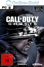Call of Duty Ghosts Key - COD 10 Modern Warfare 4 STEAM Download Code PC CD Key