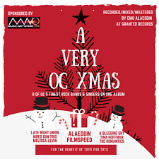 8 Orange County Musicians A Very OC XMas CHRISTMAS Comp Toys 4 Tots Benefit CD