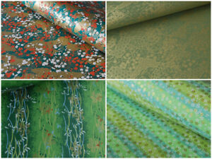 Traditional Japanese Chiyogami Washi Yuzen Paper Sheets 61x45cm~18 GREEN Designs