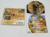 Tomb Raider: The Last Revelation (Sega Dreamcast, 2000)  Complete in Box - CIB