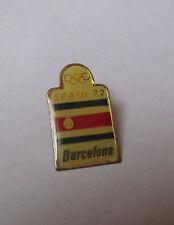 Pin's Jeux Olympiques / Spain 92 - Barcelona (Espagne barcelone - époxy)