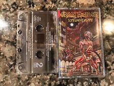 Iron Maiden Somewhere In Time Cassette! Kiss Metallica Black Sabbath Moterhead
