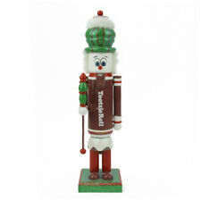 """F97170 14"""" Tootsie Roll Candy Jester Nutcracker Christmas Decoration Brown White"""