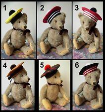 Chapeau béret ours poupée Jumeau SFBJ Kestner Halbig hat antique doll bear