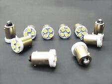 10 Viking BRIGHT White 6V LED Instrument Panel 55 BA9S 316 Light Bulbs 47 (146)