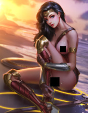 Wonder Woman #6 Photo Print - DC Universe NSFW Nude Game Art Figure Statue PS4