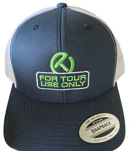 NWT SCOTTY CAMERON GALLERY Embroider FOR TOUR USE ONLY Snapback Mesh Hat Navy