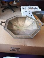 Vintage Webster Wilcox International Silverplate Footed Serving Bowl
