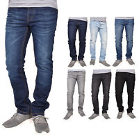 Crosshatch Men Jeans Slim Fit Faded Stretchable Denim Trouser All Waist Sizes