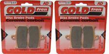FRONT BRAKE PADS FOR TRIUMPH TT675 TT 675