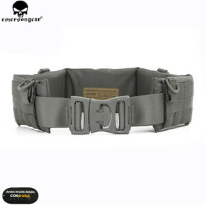 EMERSON Tactical Molle PALS Padded Patrol Heavy Duty Belt Battle Airsoft Hunting