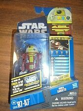 STAR WARS THE CLONE WARS ANIMATED SERIES~R7-A7 DROID MOC~SOME DMG,READ~VERY RARE