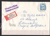 BRD, Einschreiben MiNr. 1142 EF TSt Krauchenwies 21.12.1987