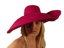 Chapeaux en paille, taille unique pour femme