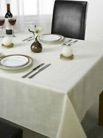 Jacquard Tablecloth in Cream 127*178 CM Oxford Textiles Dining Tablecloths