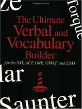 The Ultimate Verbal and Vocabulary Builder for the