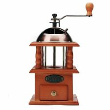 Coffee Grinder Mill Spice Hand Grinding Machine Hand Crank Burr Vintage Style
