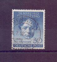Berlin 1952 - Beethoven - MiNr. 87 rund gestempelt - Michel 30,00 € (740)