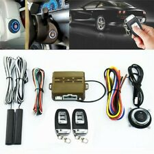 NEW Car SUV Alarm Keyless Entry Engine Ignition Remotes Start Security System H