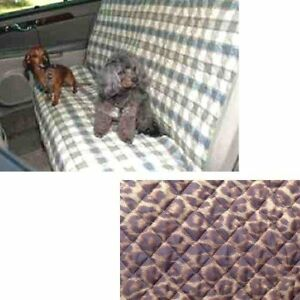 Snoozer Pet Sleeper Car Robe Bucket Seat Protector, Leopard