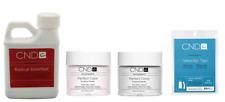 CND Creative Nail Radical Liquid 8oz +Intense Pink/White 3.7oz +Velocity Nat 100