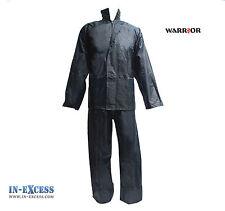 Warrior imperméable rain suit veste pantalon set sur costume à capuche Dri 2XL - 3XL