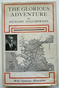1936 The Glorious Adventure, Richard Halliburton, free EXPRESS W/WIDE