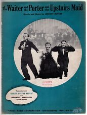 Waiter and the Porter and the Upstairs Maid 1941 Bing Crosby Birth of the Blues