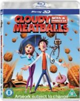 Cloudy Con A Chance Of Meatballs 3D Blu-Ray Nuovo (SBR476443D)
