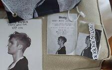 Justin Bieber vip package