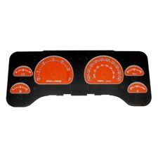 For Jeep Wrangler 01-06 Gauge Face Kit Daytona Edition Gauge Face Kit w Blue