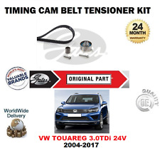 FOR VW TOUAREG 3.0 TDi 24V BlueMotion 2004-2017 TIMING CAM BELT KIT OE QUALITY