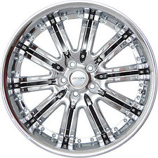 4 GWG Wheels 20 inch Chrome Black NARSIS Rims fits FORD EDGE 2007 - 2014