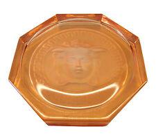 Rosenthal Versace Medusa vetro sotto capomacchlna Ø 10,5cm, II. scelta in rosè (ae874)