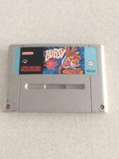 Bubsy Super Nintendo Snes Console Game Pal