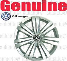 "Genuine Volkswagen Jetta Hub Cap for 16"" Wheels (14-Spoke)  5C0601147EQLV"