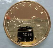 1998W CANADA LOONIE PROOF-LIKE ONE DOLLAR COIN