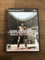 Colosseum Road to Freedom Sony PlayStation 2 PS2 Video Game Complete Tested CIB