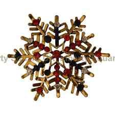 Christmas Star / Festive Brooch / Christmas Brooch /Snowflake Brooch   #522