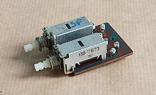 Pièce détachée Amplificateur SCOTT A436.Contacteurs poussoir fonction SPEAKERS.
