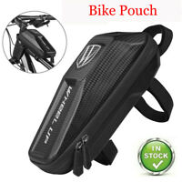 Bicycle Frame Bag Waterproof Top Tube Bag Bike Front Frame EVA Bags Case Pouch